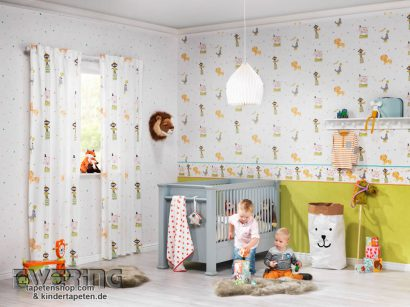 kinderzimmer tapetenprofi. Black Bedroom Furniture Sets. Home Design Ideas